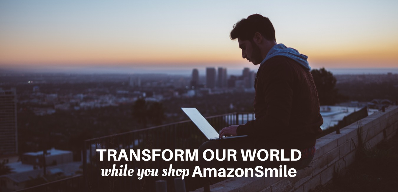 While you shop, Amazon donates